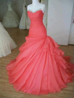 Glamorous Ball Gown Sweetheart Sweep Train Prom by SpcialDresses