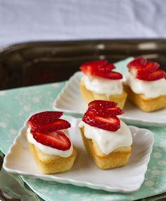 Mini Strawberry Shortcakes
