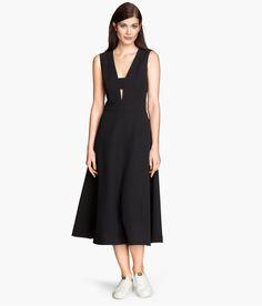 Black bell shaped dress | H&M GB