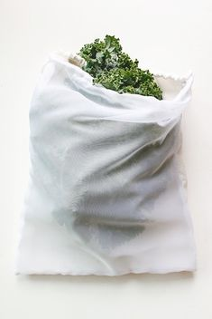 Save your veggies (and the planet) by making your own reusable produce bags