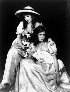 Lillian and Dorothy Gish, 1910s