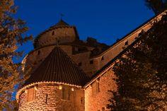 Visite nocturne ©Château du Haut-Koenigsbourg