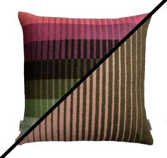 Roros Tweed 100% Norwegian Lambswool Asmund Gradient Reversible Pillow Cushion #RorosTweed #NorwegianModern