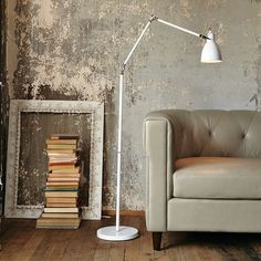 West Elm Industrial Task Floor Lamp, love this guy and was on sale in the store so I bought it