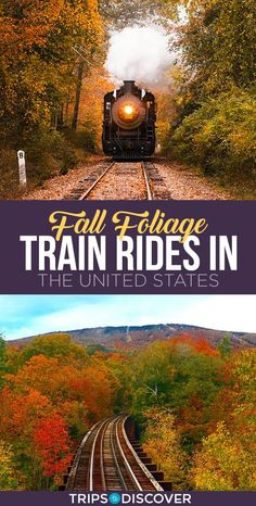 11 Best Fall Foliage Train Rides in the United States--Tanks that Get Around is an online store offering a selection of funny travel clothes for world explorers. Check out for funny travel tank tops and more US road trip destination ideas Us Travel Destinations, Places To Travel, Places To Visit, New Travel, Train Travel, Travel Usa, Family Travel, Travel Plane, Airplane Travel