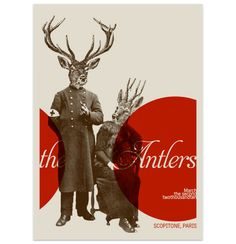 The Antlers. My most recent music discovery and easily one of my favorite artists now. All albums are ah-mazing.