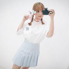 Milk T (t956) - 韓国ファッション通販【 GIRLS RULE ガールズルール】