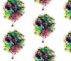 NMTrueBalloon fabric by sashasjourney on Spoonflower - custom fabric
