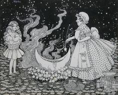 Star Soup Ida Rentoul Sherbourne Outhwaite (1888-1960) Australia