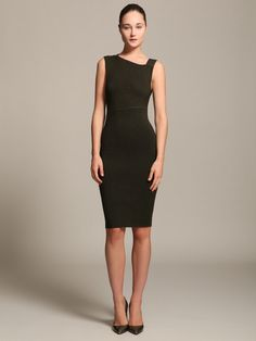 Ribbed Knit Asymmetrical Dress by Narciso Rodriguez on Gilt.com