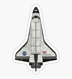 Space Shuttle Endeavour NASA Space Shuttle Sticker - Shop from 1000 unique Science Stickers on Redbubble. Perfect to stick on lapt.