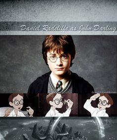 |Disney Dreamcast:Peter Pan|Daniel Radcliffe as John Darling from Peter Pan