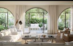 Tuscan design – Mediterranean Home Decor Home Interior Design, Interior Architecture, Interior And Exterior, Exterior Paint, Italian Interior Design, Contemporary Interior Design, Modern Interior, Interior Styling, Exterior Design