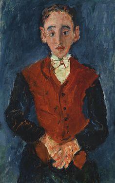 Chaïm Soutine 1893 - 1943 LE VALET DE CHAMBRE