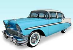 Carros Antigos para Casamento - Bel Air 1956