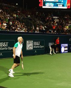 BB&T Atlanta Open is always a favorite week here at Atlantic Station. Yes - John McEnroe!