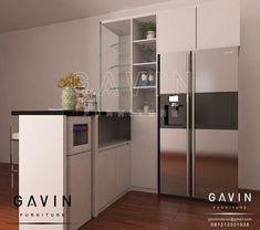 Harga Kitchen Set - Lemari Pakaian Sliding - Rak TV Minimalis by Gavin Design 3d, Kitchen Sets, Lockers, Locker Storage, Divider, Cabinet, Interior Design, Modern, Projects