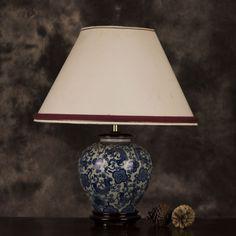 G&D_L_0040a Oriental, Porcelain, Table Lamp, Traditional, Lighting, Beautiful, Home Decor, Porcelain Ceramics, Table Lamps