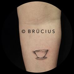 #BRÜCIUS #TATTOO #SF #etching #Norway #cup #of #tea #firsttattoo