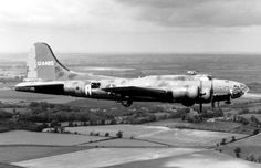 """The B-17 Flying Fortress """"The Memphis Belle"""" is shown on her way back to the United States June 9, 1943, after successfully completing 25 missions from an airbase in England. Source: USAF. Historic Wings has more on the Memphis Belle."""