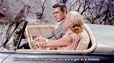 Cary Grant and Grace Kelly in  To Catch a Thief