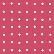 Spot Red by Cath Kidston - vinyl floor tiles