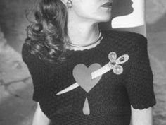 Amazing 1950s sweater.