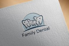 Family Dental Medical Dentist Care Templates ***Family Dental Medical Dentist Care***This design is suitable for companies / product in the sec by jongcreative Dental Clinic Logo, Dentist Logo, Dental Business Cards, Dental Office Decor, Logos Ideas, Family Logo, Gifts For Dentist, Branding Template, Dental Office Design