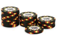 Rouleau de 25 jetons Grimaud PokerMaster 100 - Pokeo.fr - Recharge de 25 jetons de poker Grimaud PokerMaster 100 noir, en clay composite 14g.