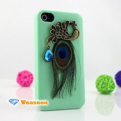 peacock iphone 4 casepeacock iPhone 5 casedesigner by Veasoon, $13.99