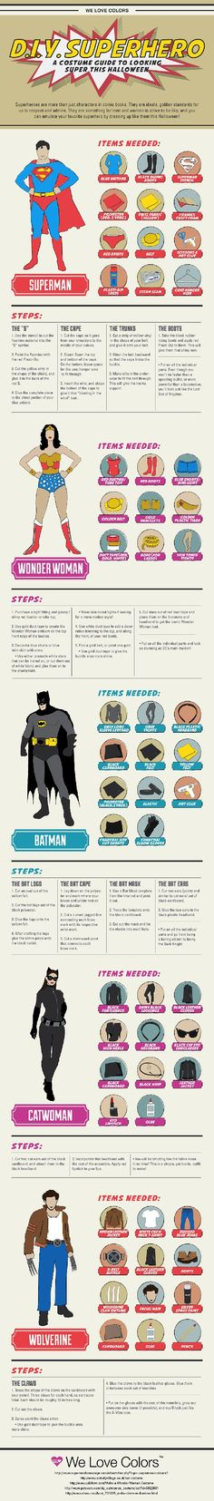 D.I.Y. Superhero Costumes