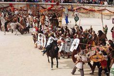 Historical reconstruction - NIMES 2015 Les Grands Jeux Romains - Battle of Zama