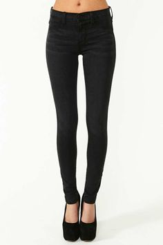 Metric Skinny Jeans - Black