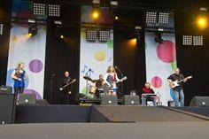 Het vrijheidsfestival op het Chasséveld in Breda op 5 mei 2012 - Key Leigh Leith