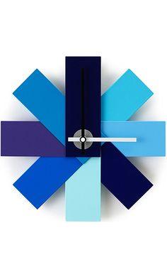 "Normann Copenhagen Watch Me Wall Clock, Blue 11"" Best Price"