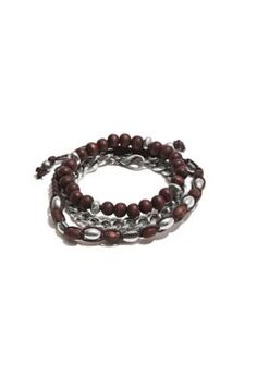 Wooden Beaded Bracelet Set | GbyGuess.com