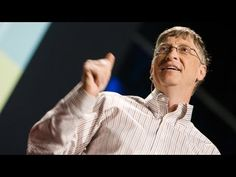 Bill Gates hopes to solve some of the world's biggest problems using a new kind of philanthropy. In a passionate and, yes, funny 18 minutes, he asks us to consider two big questions and how we might answer them. Cure, Einstein, Ted Videos, Chris Anderson, Leader In Me, Social Entrepreneurship, Bill Gates, Public Speaking, Asperger