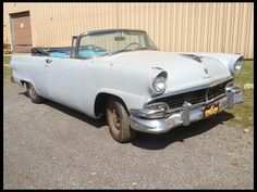 1956 Ford Sunliner  One Owner Since New