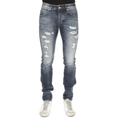 Pierre Balmain Moto Jean ($725) ❤ liked on Polyvore featuring men's fashion, men's clothing, men's jeans, designers, home, men's, pierre balmain, mens flap pocket jeans, mens zipper jeans and mens button fly jeans