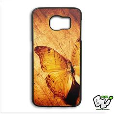 Old Brown Butterfly Samsung Galaxy S6 Edge Case