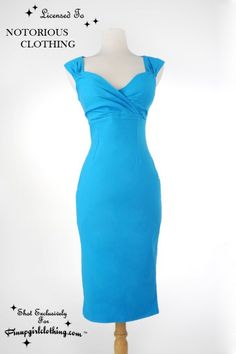 Pin-up couture - Erin dress in blue