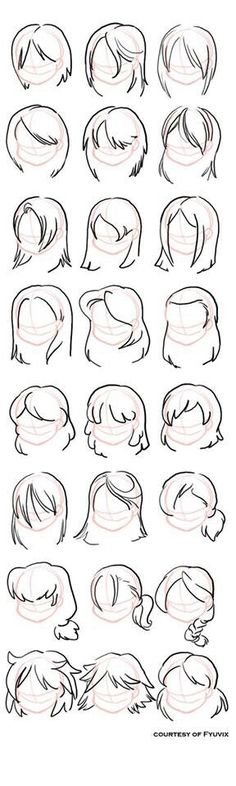 Different hair style
