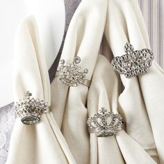 royal wedding napkin rings sharing inspiring supporting hollywood wedding event professionals fans - Wedding Napkin Rings