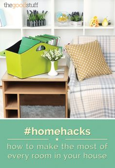 This organization series of home hacks will help you make the most of every room in your house!