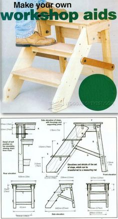 DIY Step Platform - Workshop Solutions Projects, Tips and Tricks | WoodArchivist.com
