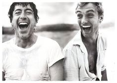 Jude Law/Robery Downey Jr. his faccccceeeds :D