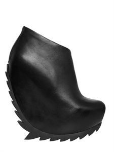Camilla Skovgaard | Moon Leather Boot Wedges | SS2013