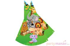 Jungle - Hats > Jungle Theme Supplies. Order it from partyManao.com