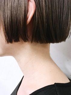 Short Hair Waves, Short Curls, Short Hair Cuts, Short Hair Styles, Blunt Haircut, Hair Arrange, Hairstyles Haircuts, Look Fashion, Hair Trends