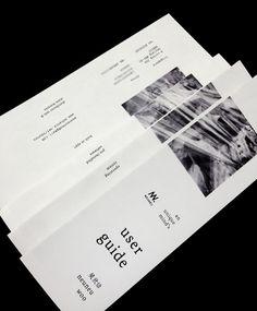 Shameless self-promotion brochure portfolio cv resume on Behance